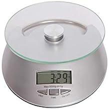 lupeng Báscula de Cocina Digital Multifuncional para cocinar y Hornear, Sistema de Sensor de Alta