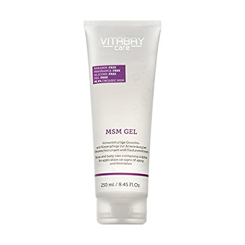 MSM-Gel Sensitive for body and face care with pure MSM Vegan, without silicones Dermatologically tested Ideal for impurities, pimples and blackheads Supports the removal of pigment and age spots (250