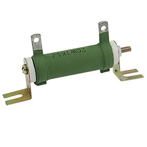 NONFLAMMABLE 20 W Watt 1 K5 1,5 K Ohm 5% Keramik Rohr Widerstand -