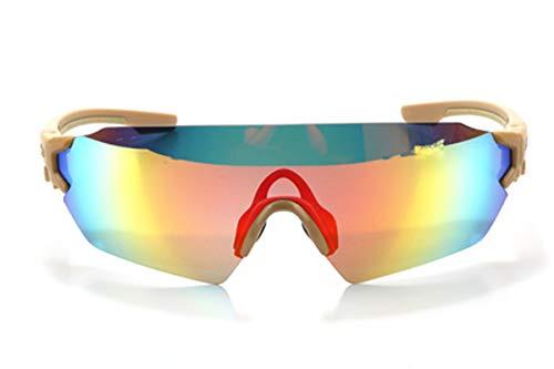 Daesar Gafas Sol Caqui Gafas Moto Hombre Gafas Seguridad
