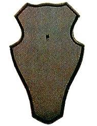 gehörn Tabla 22x 13cm redondo oscuro incluye gehörn Pinza