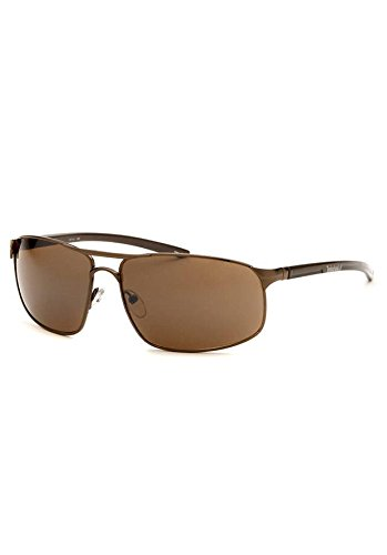 Timberland Men's Rectangle Bronze Sunglasses