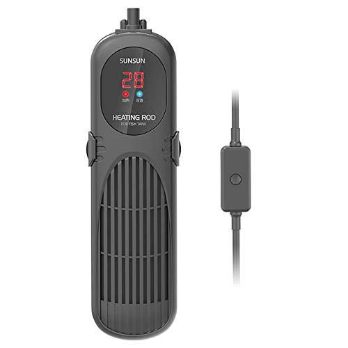 A~LICE&YGG PTC Aquarium Hochleistungs-Heater, Einstellbare Tauch Auto Thermostat-Fisch-Behälter-Wasser-Heizung, mit Saugnapf,100W -
