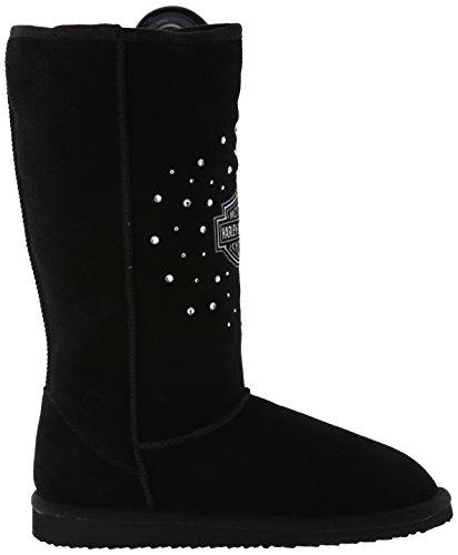 Harley-davidson Gretchen Ballet Slipper Black
