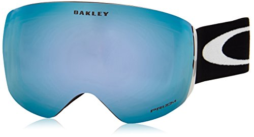 Oakley Men's Mod. 7050 Clip Flight Deck 705020 0 Rectangular Sports Glasses 99, Matte Blackprizmsapphireiridium