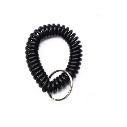 mttheaw Handgelenk Spule Farbe sortiert Kunststoff Handgelenk Band Schlüssel Ring Kette für Outdoor Sport