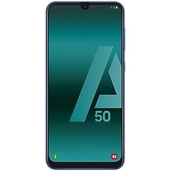 Samsung Galaxy A50, Smartphone FHD Amoled Infinity U Display (4GB RAM, 128GB ROM, 25MP, Exynos 9610, Carga Rápida), Android, 6.4