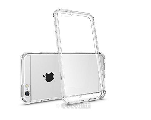 Cocomii Modern Armor iPhone 6S Plus/6 Plus Hülle [Kristallene Klarheit] HD Anti-Vergilbung Antikratzbeschichtung Transparent Case Schutzhülle for Apple iPhone 6S Plus/6 Plus (Mo.Crystal Clear) (Scratch Iphone 6 Back Protector)