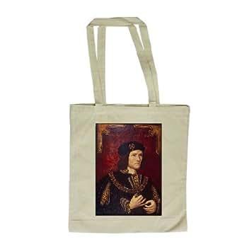 Portrait of King Richard III (oil on panel).. - Long Handled Shopping Bag