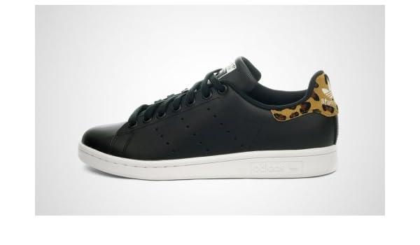 adidas Stan Smith W (SchwarzLeo): : Schuhe