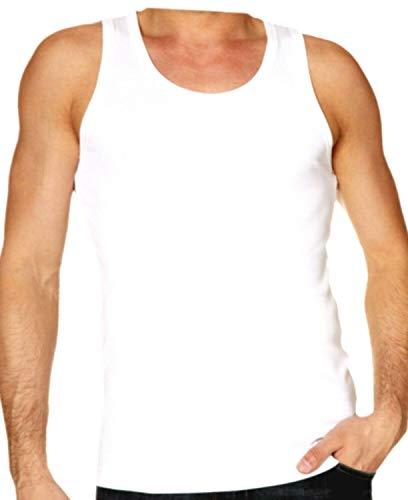 Mobee Fashions Summer Collection Herren Weste Regular Fit 100{1f32a3f0db7dea69425d911c286ee13b21fa6c8ae8f0f8875d50ed6c6e253440} Baumwolle Tank Top M L XL Gr. L, weiß