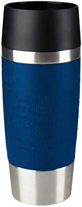 TEFAL 0.36 Litre Travel Mug , Blue, Stainless Steel/Plastic, K3082114