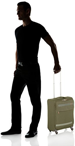American Tourister Herolite Lifestyle Spinner, Equipaje de Mano, S (55cm-42L), Verde (Khaki)