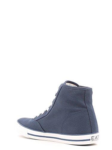 Baskets Armani EA7 Cult Vintage High U 288029 6P299 06935 Navy Blue Bleu