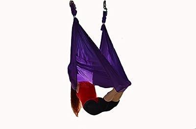 Aerial Yoga Hammock Set Anti-Schwerkraft Yoga Swing elastische Yoga Hängematte Keine Nähte Aerial Silks