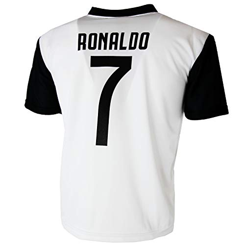 7623b9a71f3e00 Maglia Juventus Cristiano Ronaldo 7 CR7 Replica Autorizzata 2018-2019  Bambino (Taglie-Anni 2 4 6 8 10 12) Adulto (S M L XL) (8 Anni)