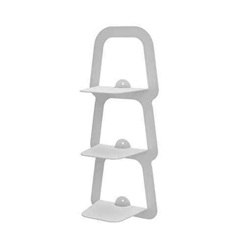 Ve.ca-italy reggilibri invisibile libreria mensola design in diversi colori 3016 (bianco)