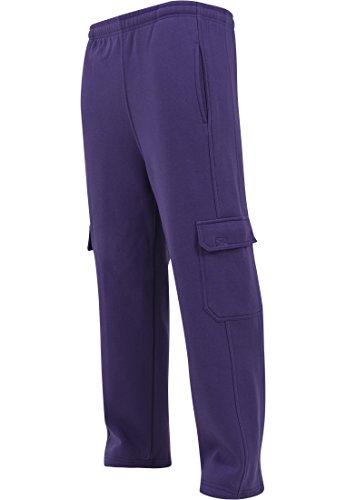 Urban Classics Cargo Sweatpants, Pantalon Homme Violet