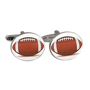 American Football Ball Manschettenknöpfe