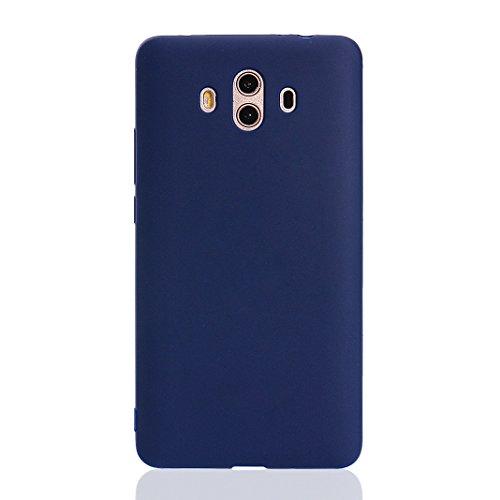 Huawei Mate 10 Handy Hülle, Asnlove Ultra Dünn Tasche TPU Handy Fälle Schutzhülle Handykappen Anti-Scratch Bumper Case mit Pure Motiv Silikon Schutzhülle Für Huawei Mate 10 Smartphone