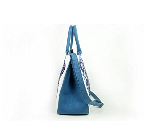 HYLM Borse di moda Borsa nuova borsa della borsa della tela di canapa della signora Folk-Custom , e11 ea02