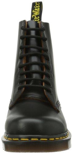 Dr. Martens 1460z Vintage 8 Eye Boot Black, Derby Homme Noir (Smooth)