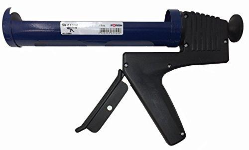 Preisvergleich Produktbild Förch Profi Handkartuschenpistole für 310ml Kartuschen, Silikonpistole, Kartuschenpistole manuell