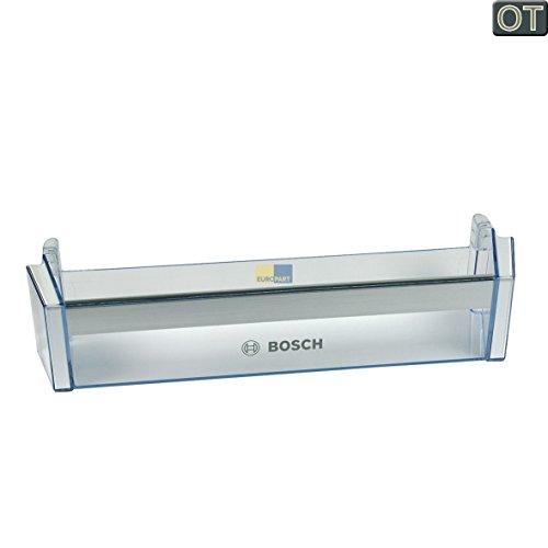 """Bosch Siemens 704760 00704760 ORIGINAL Absteller Abstellfach Türfach Seitenfach Flaschenfach Flaschenhalter Flaschenabsteller Kühlschrank Kühlschranktür Aufdruck: """"Bosch"""""""
