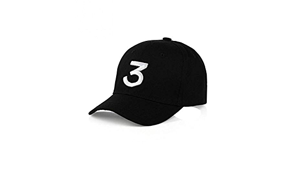 DAIDAIBQM Popolare Cantante Chance The Rapper 3 Chance cap Lettera Ricamo 3D Berretto da Baseball Hip Hop Snapback Cappelli