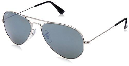 fb918e3b482 Ray-Ban UV Protected Aviator Men s Sunglasses – (RB3025 W3275 55 14 55 Grey  lens)