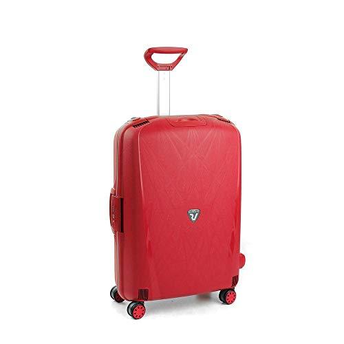 Roncato Light Trolley Medio - 4 Ruote, 68 Cm, 80 Litri, Rosso