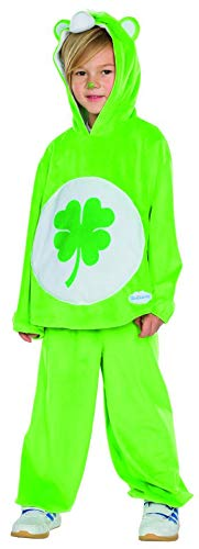 Rubie's Kinder Kostüm Glücksbärchi Gr. 104-140 grün Fasching -