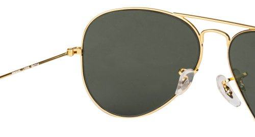 c7ed78693a2a8e Ray-Ban UV protection Aviator unisex Sunglasses (L0205 58 millimeters Green)