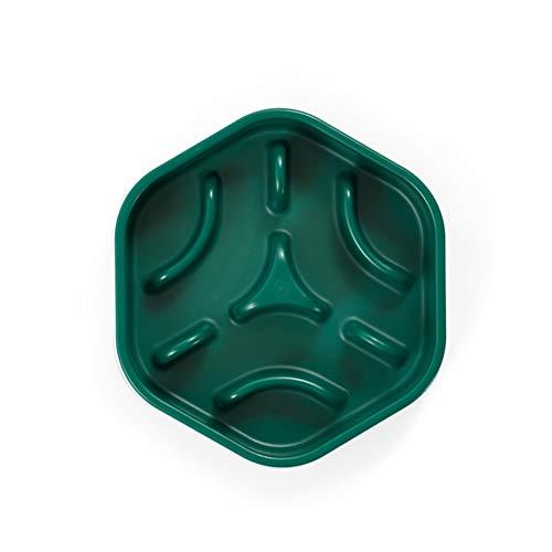 Ciotola per riso per cani labirinto ciotola per alimenti lenti, ciotola per cani antisfondamento, ciotola per alimenti lenti per cani di grossa taglia, adatta per cani di taglia grande, media e piccol