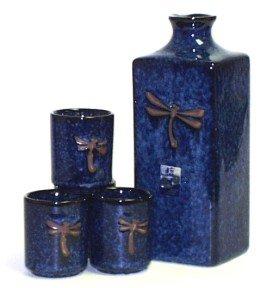 Dragonfly Sake Set by Japanese Sake Sets -