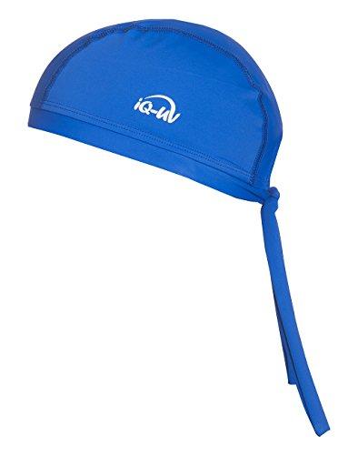 iQ-UV 300 Bandana, UV-Schutz Kopftuch, Dark-Blue, XL (61cm)