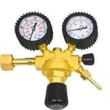 Reductor de presión 315bar para soldadura Argon/CO22manometri Casquillo Bombol