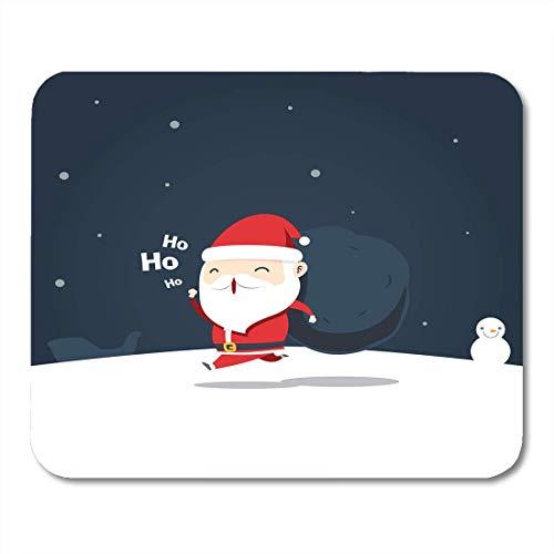Luancrop Alfombrilla ratón Chibi Santa Claus está