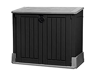 Keter Mülltonnenbox Store it Out Midi, Schwarz, 845L (B007KL43AK) | Amazon Products