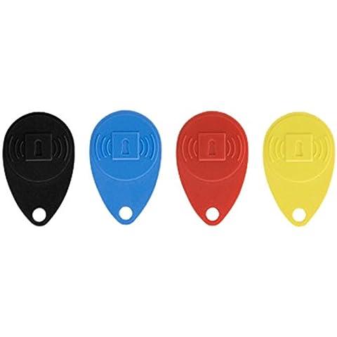 Honeywell Tag4S Kit 4 Llaves de Proximidad, Multicolor