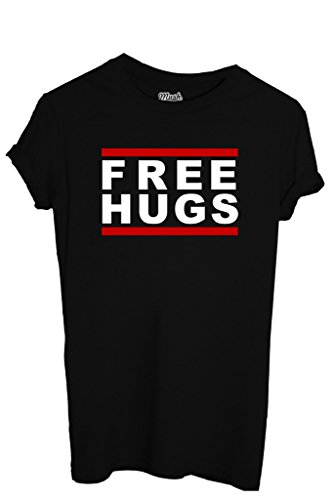 T-SHIRT FREE HUGS - FUNNY by MUSH Dress Your Style Uomo-M
