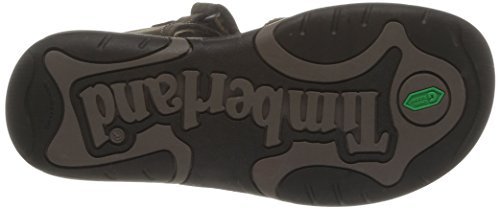Timberland Active Casual Sandal_Oak Bluffs Leather 2Strap, Unisex-Kinder Sandalen, Braun (Dark Brown), 33 EU -
