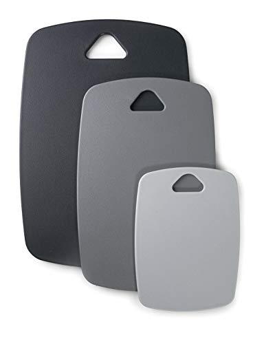 Lacor 60500 60500-Set Schneidebretter, doppelseitig, Polypropylen, BPA-frei, Kunststoff, 3 Stück
