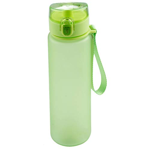 Reusable Metal Water Bottle Camping sports crossfit cycling festival yoga 500ml