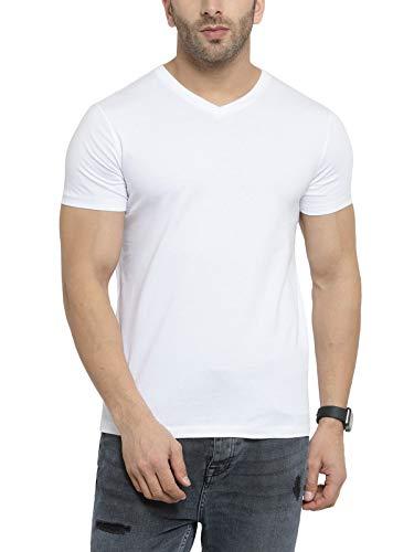 6505c97da00 ... Scott Men s Basic Cotton Round Neck Half Sleeve Solid T-Shirts - Pack  of 3 ...