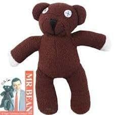 Nido del Bimbo 1000189 - Peluche Orsachiotto Teddy Mr.Bean 23cm dalla Serie TV Originale