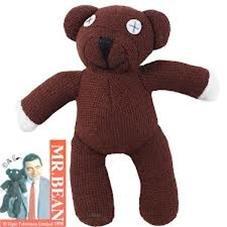 Nido del Bimbo 1000189 - Peluche Orsachiotto Teddy Mr.Bean 23cm dalla Serie TV Originale - Argento Bean
