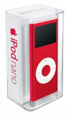 Apple iPod nano 4 GB Rot (2nd Generation) (Ipod Apple 2gb 2. Generation)