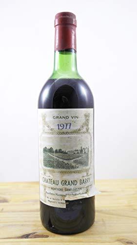 Vino Cosecha 1977 Château Grand Barry ME Botella