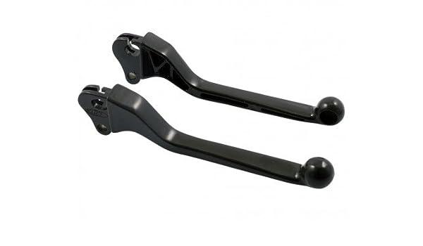 2 Stück für VESPA PK 50 50 V5X1T 2T AC 82-84 L 145mm Sporthebel SIP schwarz